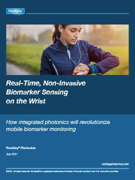 Rockley Photonics - Biomarker Sensing on the Wrist